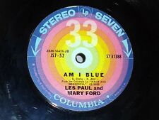 Les Paul & Mary Ford: Am I Blue / You Brought a New Kind of Love to Me [VG Copy]