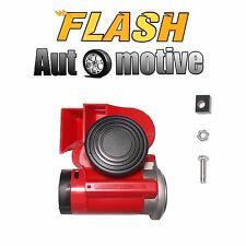 Brand New Universal 12V Snail Compact Dual Tone Electric Pump Air Horn BALD813 F