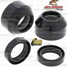 All Balls Fork Oil Seals & Dust Seals Kit For Kawasaki KX 60 1988 88 Motocross