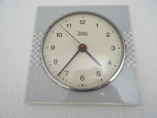 Diehl Retro 1970s Ceramic Kitchen German Wall Clock Vintage (Junghans era)