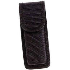 Black Molded Nylon Sheath Knife Belt Pocket Cree LED Flashlight Holster Case