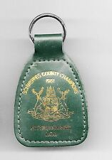 NOTTINGHAMSHIRE COUNTY CRICKET CLUB 'SCHWEPPES COUNTY CHAMPIONS' ~  KEYRING