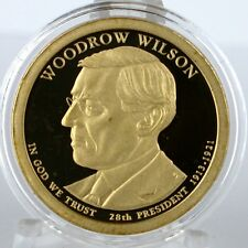 2013-S $1 Woodrow Wilson Proof Dollar in Archival Crystal Clear Coin Capsule