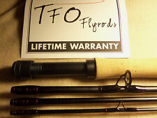 Temple Fork Outfitters Professional II TFO 9' 6 weight Fly Rod Custom Built