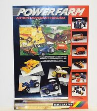 Britains Power Tienda rural de ventas de folleto Poster (BS18)