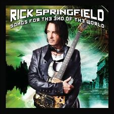 RICK SPRINGFIELD CD - SONGS FOR THE END OF THE WORLD (2012) - NEW UNOPENED