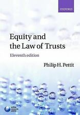 Equity & the Law of Trusts