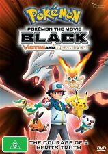 Pokemon The Movie: Black - Victini and Reshiram DVD NEW