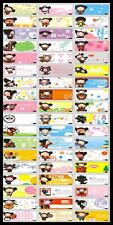 45 PUCCA Personalised Name Stickers,Labels,Tags,