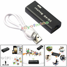 Wireless Portable Mini USB WiFi Routeur 3G/4G Hotspot 150Mbps Wlan 802b/g/n