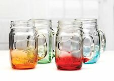 Palais Glassware® Mason Jar Tumbler Mug with Handle - 17.5 Ounces - Set of 4 ...