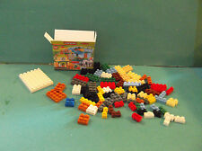 Barbie 1:6 Furniture Handmade Miniature Lego Duplo Box and Pieces mm