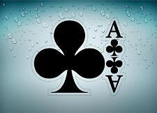 Sticker adesivi adesivo moto auto jdm bomb tuning poker casco come fiori carte B