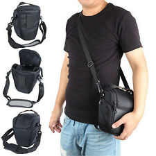 Waterproof Black Camera Case Shoulder Bag Backpack for Canon Nikon Sony SLR DSLR