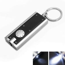 MINI LED LIGHT TORCH FLASHLIGHT KEYRING KEY CHAIN XMAS CHRISTMAS STOCKING FILLER