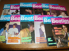 Beatles Book Monthly Magazine 1986 Full Year Collection RARE editions 117-128