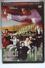 Shaolin challenges Ninja NTSC DVD