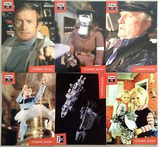 LOST WORLDS OF GERRY ANDERSON PREVIEW SET: ALL 6 CARDS PR1 - 6