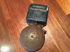 Vintage Collectable Industrial Wall Mounted Phone Ringing Bell Man Shed