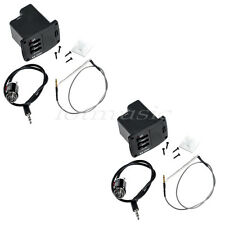 2PCS  EQ AND PREAMP PIEZO CABLE PICKUP FOR UKULELE Hot Sale