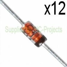 12 x 1N4148 signal DIODE In4148 100V 200mA HIGH SPEED SWITCHING - uk stock