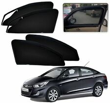Zipper Magnetic Sun Shades Car Curtain For - Hyundai Verna Fluidic