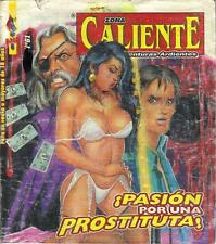 *ZONA CALIENTE*  PASION POR UNA PROSTITUTA - MEXICAN COMIC ~ GIRLS ~ #61