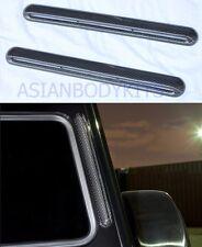 carbon fiber C pillar air vent covers for Mercedes Benz G class G500 G63