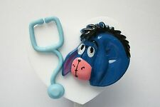 NURSIE EEYORE RN MEDICAL DOCTOR EMT NURSE VET TEACHER ID BADGE HOLDER