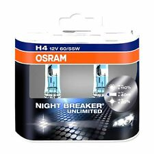 OSRAM H4 NIGHT BREAKER NIGHTBREAKER UNLIMITED DUO - +110% 12V 60/55W 64193 +TOP+