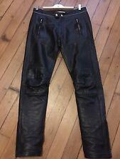 Pantalon Cuir Noir Isabel Marant X H&m Taille W32