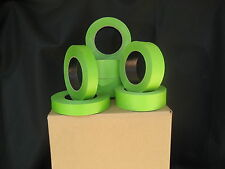 """32 Rolls 1.5"""" X 60 Yrds Green Painters Masking Tape,FACTORY SECONDS, USA Made"""