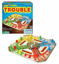NEW! Classic Trouble Board Game, Free Shipping