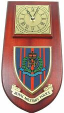 RMP ROYAL MILITARY POLICE CLASSIC HAND MADE TO ORDER  WALL CLOCK