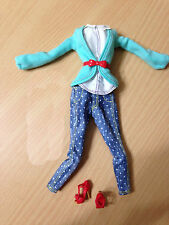 Barbie Life In Dreamhouse Style Midge Doll Outfit Cloth Dot Pant Accessory Shoes