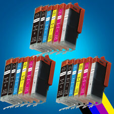 18 Ink Cartridges Canon For PGI550 CLI551 MG7150 MG6350 With 3 Grey inks 2