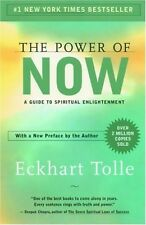The Power of Now: A Guide to Spiritual Enlightenment by Eckhart Tolle, Paperback