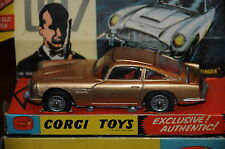 "Vintage Corgi Toys Aston Martin DB 5 / James Bond Agent 007 ""Goldfinger"" / 5"