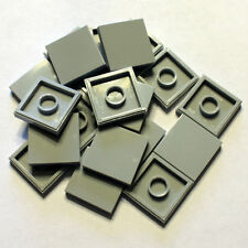 Bulk Lego Pieces: 20 Light Stone Gray 2x2 Tiles Legos ** NEW ** LDraw part 3068
