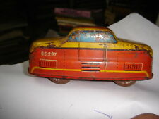 INDIA - TIN TOYS TRAM BUS GE297 MADE IN WESTERN GERMANY SIZE 4''