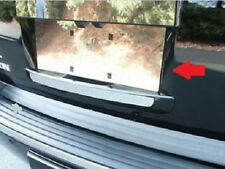 Cadillac ESCALADE 2007 2008 09 2010 2011 12 2013 2014 CHROME LICENSE PANEL TRIM