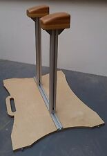 Handstand Canes, Adjustable Width, Solid Oak Handstand Blocks, Fully portable