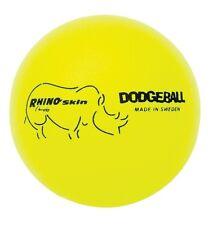 Champion Sports Rhino Skin Neon Yellow Dodgeball Set RXD6NYSET Dodgeball NEW