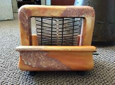 Vintage Pan Electric Onyxide Toastrite Toaster 1920's Orange
