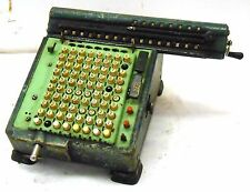 ANTIQUE VINTAGE ADDING MACHINE, UNKNOWN BRAND, USED, SOLD AS IS