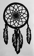 NATIVE AMERICAN DREAM CATCHER VINYL DECAL WINDOW LAPTOP WALL DECOR CAR STICKER