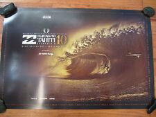 Billabong Pro Tahiti Surfing Contest Poster 2010 TEAHUPOO FIRING