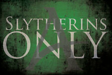 Slytherin poster, Slytherins Only Harry Potter,Draco Malfoy,Tom Felton,Hogwarts