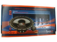 "PowerBass S-6C 6-1/2"" 6.5"" 2-Way 225 Watts Car Audio Component Speakers Pair"