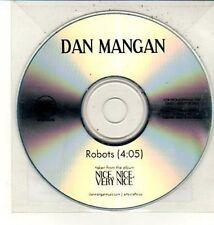 (DC809) Dan Mangan, Robots - 2010 DJ CD